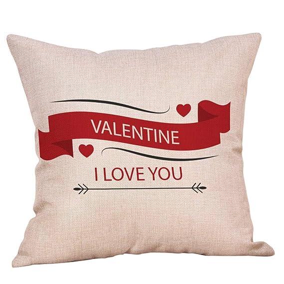 Yvelands Almohadas San Valentín el Amor impresión romántico ...