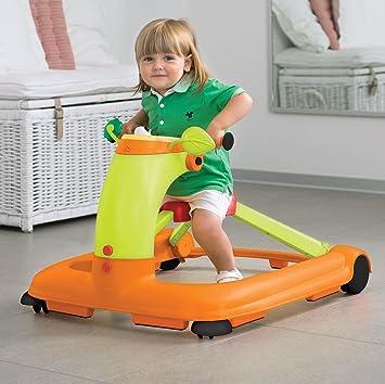 Amazon.com: Chicco 123 Actividad Walker, color naranja: Baby