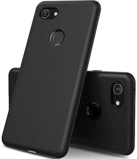 best website 684f5 39736 Pixel 3 XL Case, KuGi Google Pixel 3 XL Case, JS Scratch Resistant & Anti  Slip Enhanced Gripping Soft TPU Case for Google Pixel 3XL Case ...