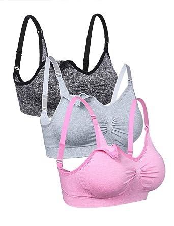 Abollria Still BH Damen Schwangerschaft Still ohne Bügel Nahtlose Still-BHS Tops Verlängerungen Umstandsmode Unterwäsche