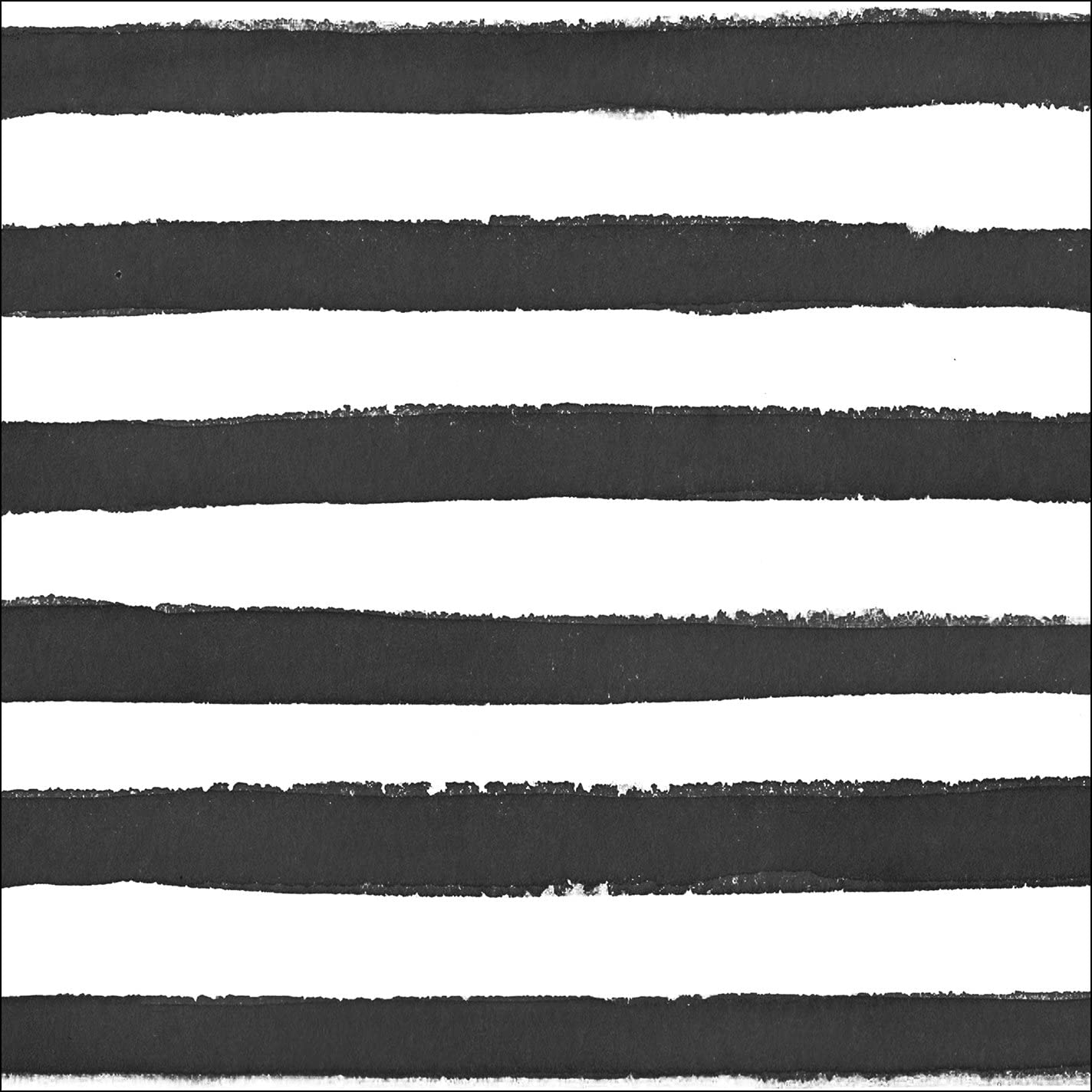 Creative Converting 24 Count Premium Patterned Beverage Napkins, Dotted and Striped, Licorice