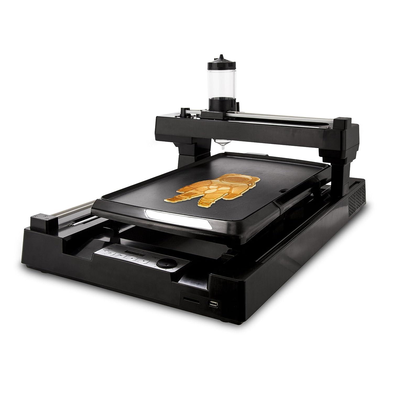 pancakebot pnkb01bk 3d impresora de alimentos, color negro: Amazon ...