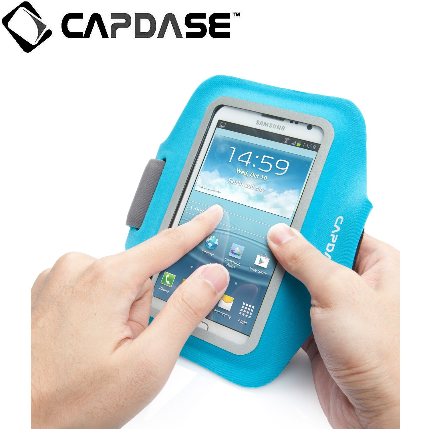Capdase Zonic 155A Sport Armband Case Cover 5 Inch Screen