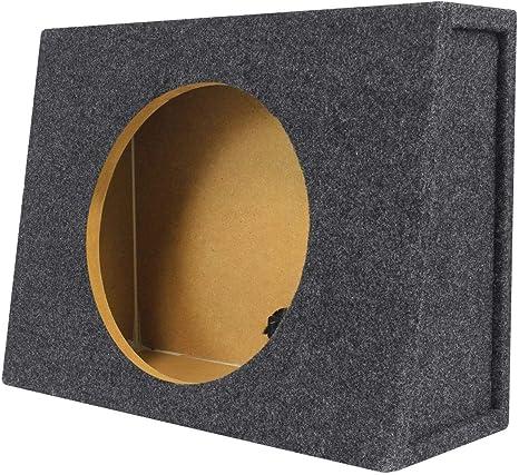Rockville caja de caja poco profunda para Rockford Fosgate P3SD4-12 12