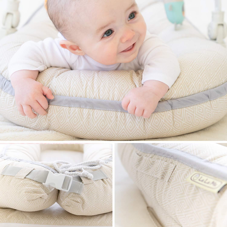 Amazon.com: Tumbona orgánica para recién nacidos | Nido de ...