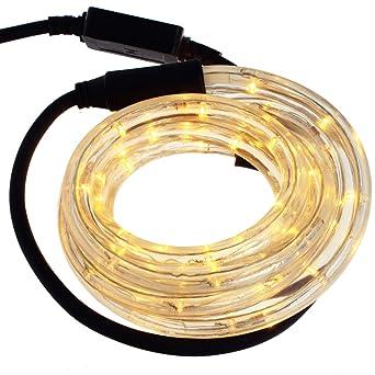 Smartfox LED Lichterschlauch Lichterkette Licht Schlauch 3m f/ür Innen und Aussenbereich mit 72 LEDs in wei/ß