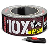 FiberFix 10x Tape- 10x Stonger Than Duct Tape- Weight Bearing Untearable Water Resistant Repair Tape