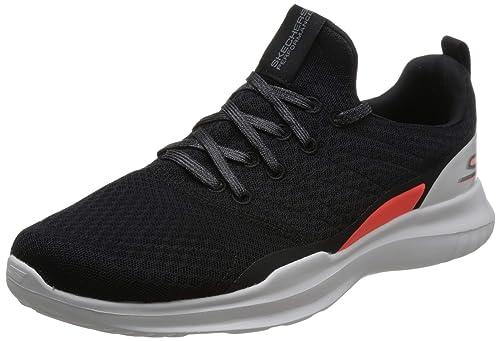 Buy Skechers Men S Go Run Mojo Radar Black White Red Shoe 10 Uk