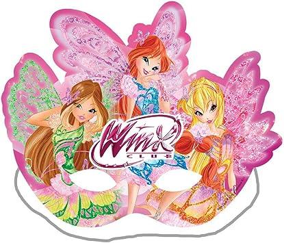 Winx Club Masques 6 Pieces Butterflix Fete Anniversaire Decorations Amazon Fr Jeux Et Jouets