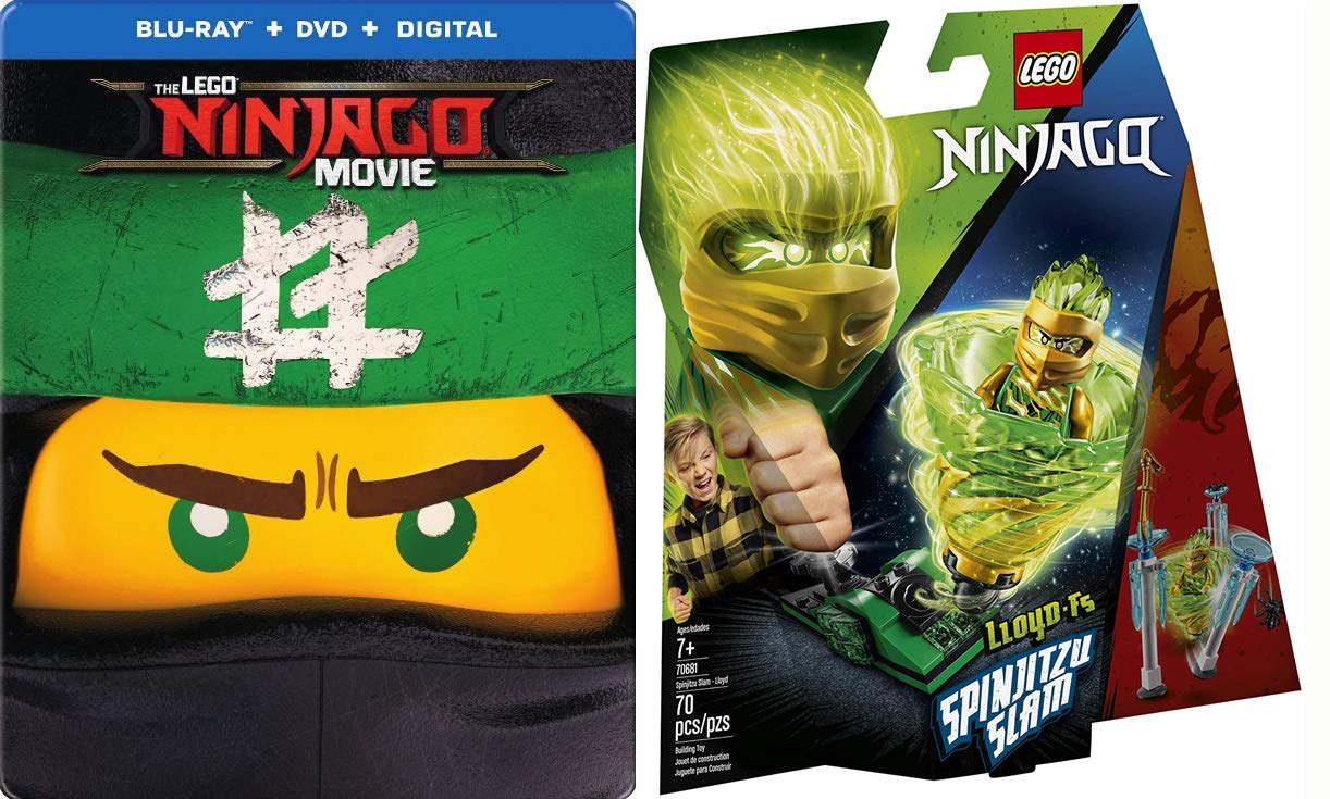 Amazon.com: Ninjas + Lego Steelbook Exclusive LEGO NINJAGO ...