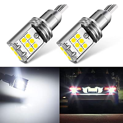 JDM ASTAR High Performance Bright White Vision 3030 Chipsets 921 912 LED Bulbs For Backup Reverse Lights: Automotive