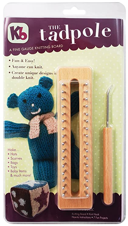 Amazon Tadpole Knitting Board 6 Inch Arts Crafts Sewing
