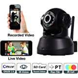 Bolt Wireless HD IP Wi-Fi CCTV Indoor Security Camera (Black)
