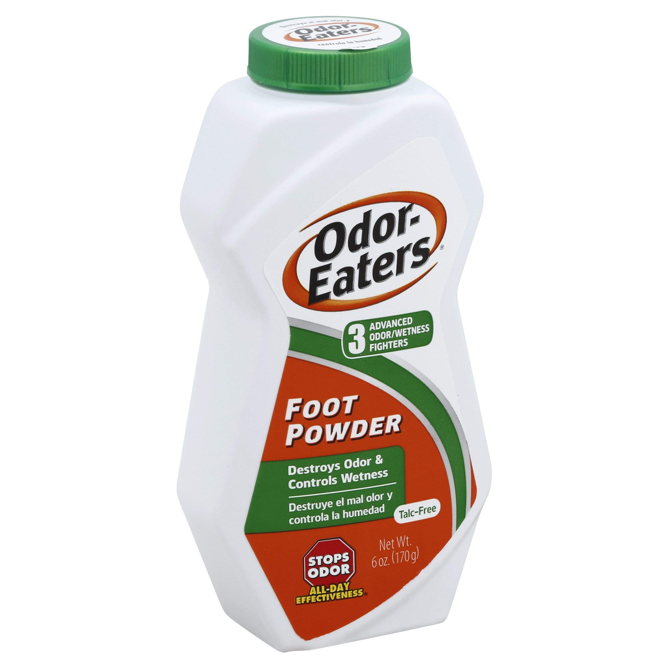 Odor-Eaters Foot Powder, 6-Ounces (Pack of 4) by Odor-Eaters