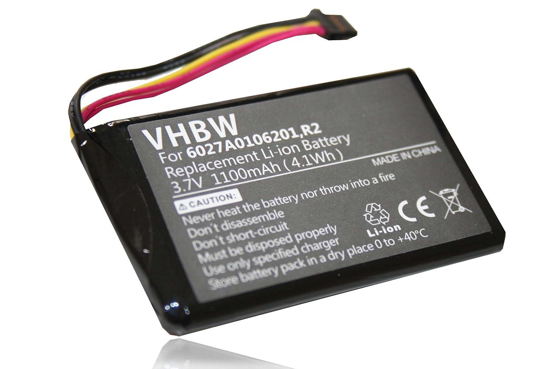 Vhbw Li Ion Battery 1100 Mah For Sat Nav Gps Tomtom Go Sony Ericsson Z800 Schematic Diagram Electronics