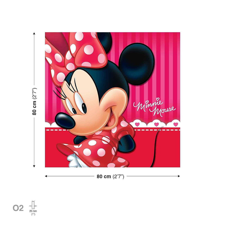 Amazon.de: Disney Minnie Maus Leinwand Bilder (PPD1453O5FW)