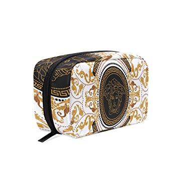 b375934af06 Portable Organizer Makeup bag,Amazing Versace Cosmetic Bags Multi  Compartment Travel Pouch Storage for Women