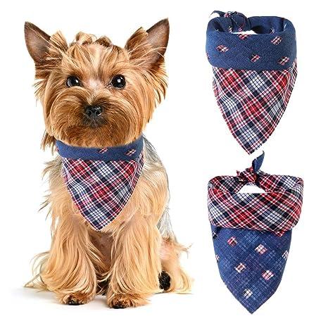 ASOCEA - Baberos Triangulares para Mascotas, diseño clásico ...
