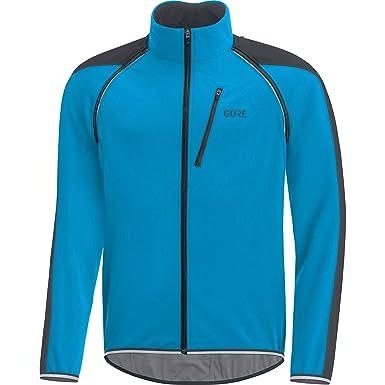 Gore Wear, Hombre, Chaqueta Cortavientos de Ciclismo en Carretera, Mangas Desmontables, Gore C3 Gore Windstopper Phantom Zip-Off Jacket, 100190