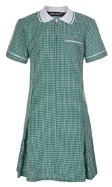 e256f94f6ce Miss Chief Girl s School Gingham Summer Dress Age 3 4 5 6 7 8 9 10 ...