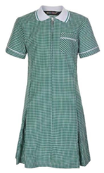 b951ea5277b Miss Chief Girl s School Gingham Summer Dress Age 3 4 5 6 7 8 9 10 ...