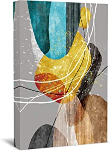 Wallart777 Abstract Canvas Wall Art Artworks Pictures Canvas Prints Wall Art Paintings Abstract Giclee Print Gallery Wrap Modern Home Decor for Living Room Bedroom Decoration ( style-1 32