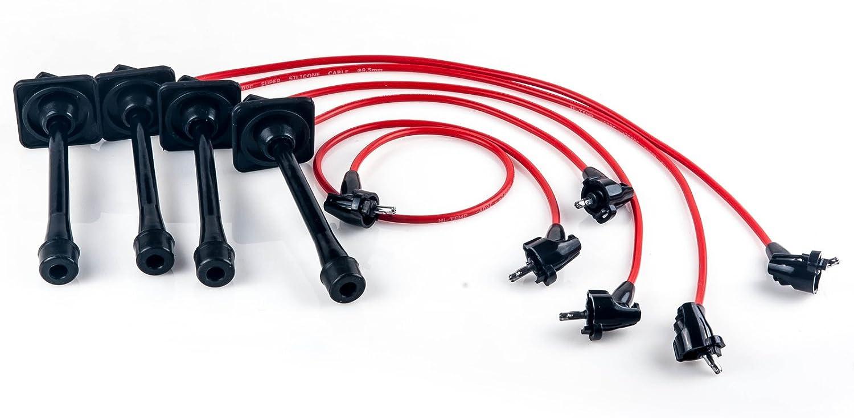 Amazon.com: Ignition Spark Plug Wires Set for 92-96 97 Toyota Camry Celica  MR2 Rav4 2.2L: AutomotiveAmazon.com