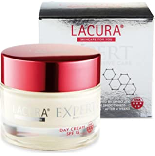 Aldi Lacura Expert Wrinkle Filling Day Cream 50ml ANTI-AGEING With SPF 15 & Mimox