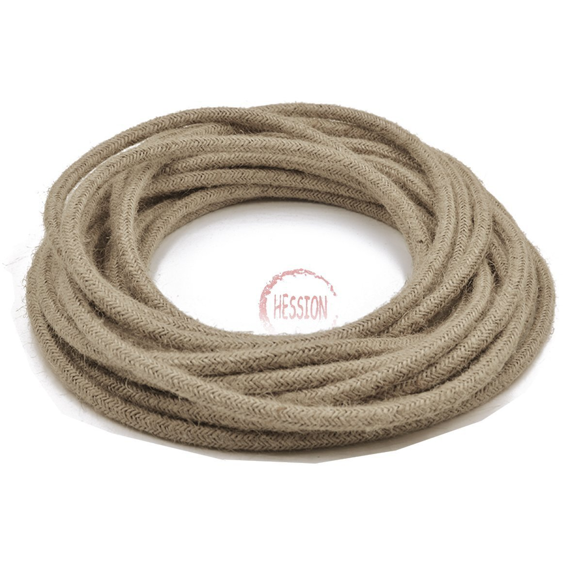 Amazon.com: HESSION 32.8ft 18/2 Round Electric Rope Light Cord ...