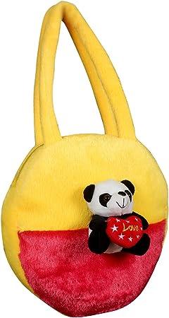 Tickles Panda Hand Purse Soft Stuffed for Kids 4 litres