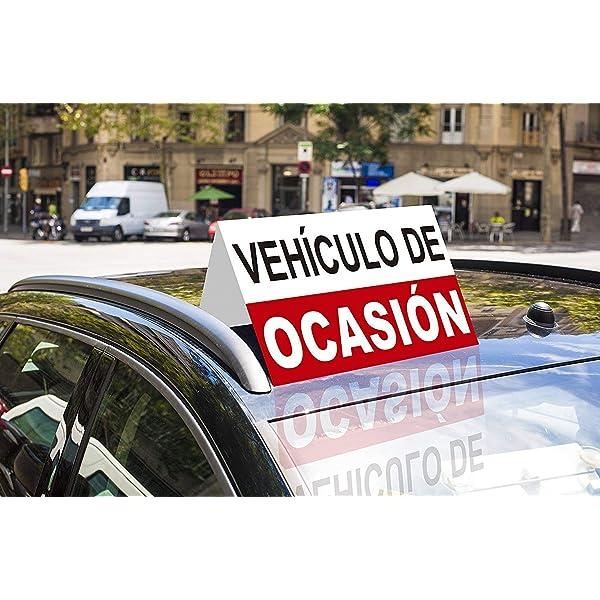 Cartel Coche en Ocasión 60x25cm | Rótulo Fabricado en ...