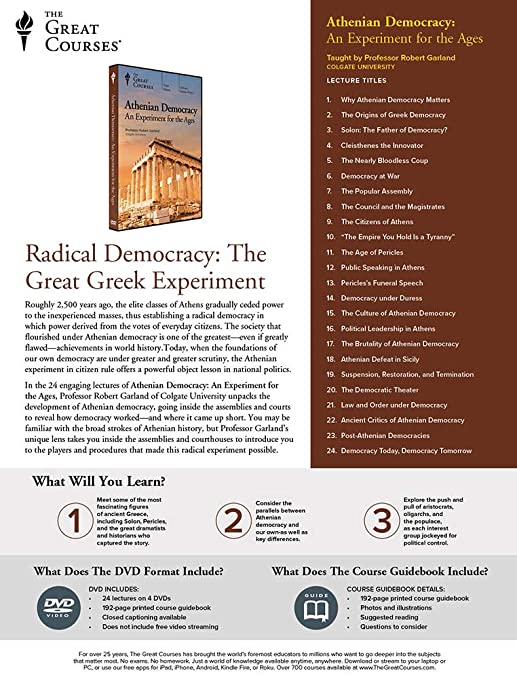 Amazon com: Athenian Democracy: An Experiment for the Ages: Robert