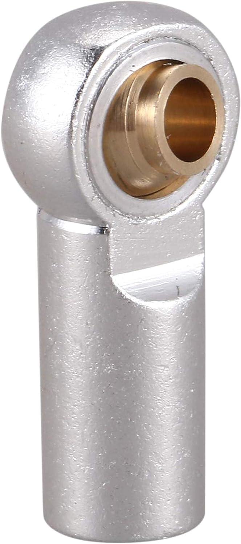 LIUSHUI 5Pcs M3 Kugel 1//10 Rc LKW-Auto-LKW-Buggy Joint Link-Rod Bar Seals Kopf Ball Spurstangenkopf Silber