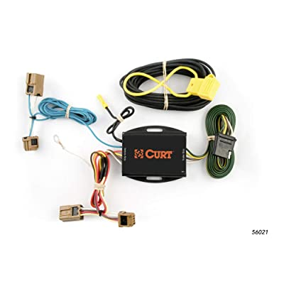 CURT 56021 Vehicle-Side Custom 4-Pin Trailer Wiring Harness for Select Nissan Versa: Automotive