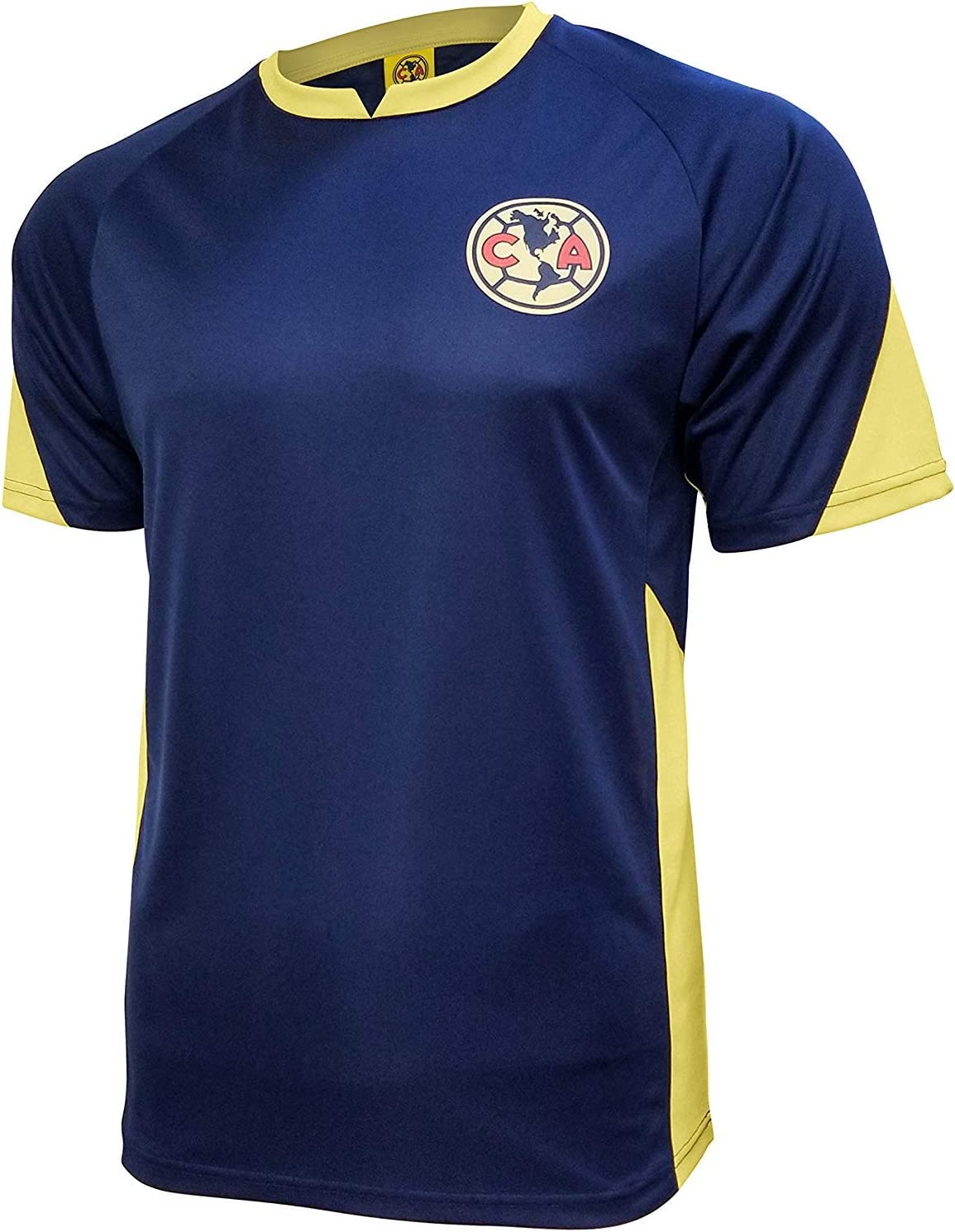 018 Icon Sports Adult Club America Official Soccer Poly Jersey Shirt