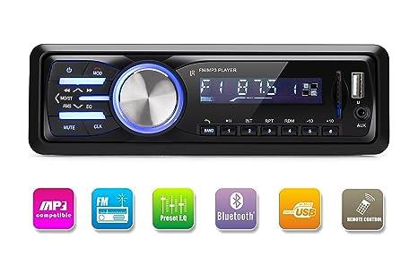 Rixow Autoradio Reproductor Bluetooth Llamadas
