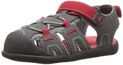 See Kai Run Boys  Lincoln III Sport Sandal Gray 10 M US Toddler 5082c1f10