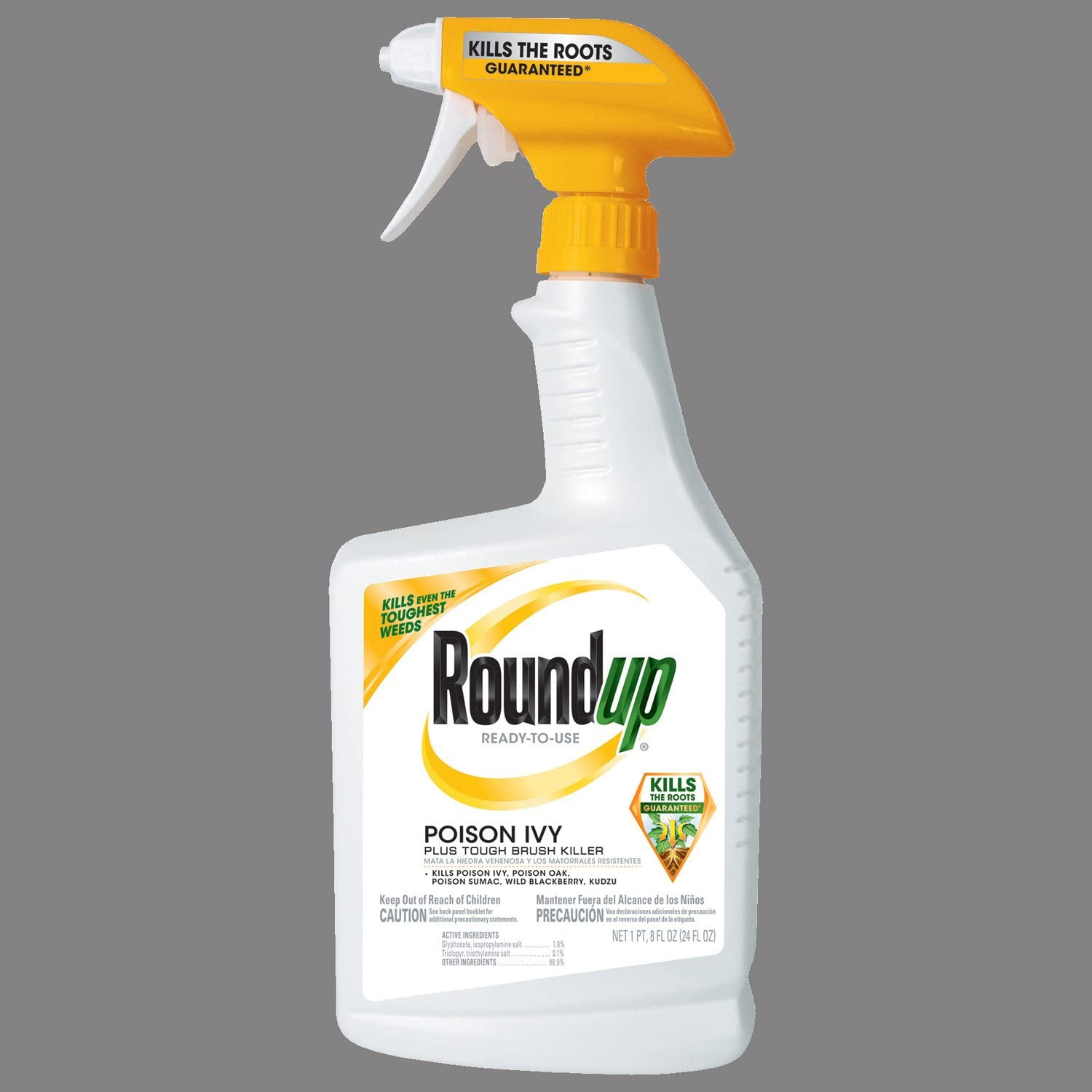 Roundup 5002710 Poison Ivy Plus Tough Brush Killer Ready-to-Use Trigger Spray, 24-Ounce (Older Model)