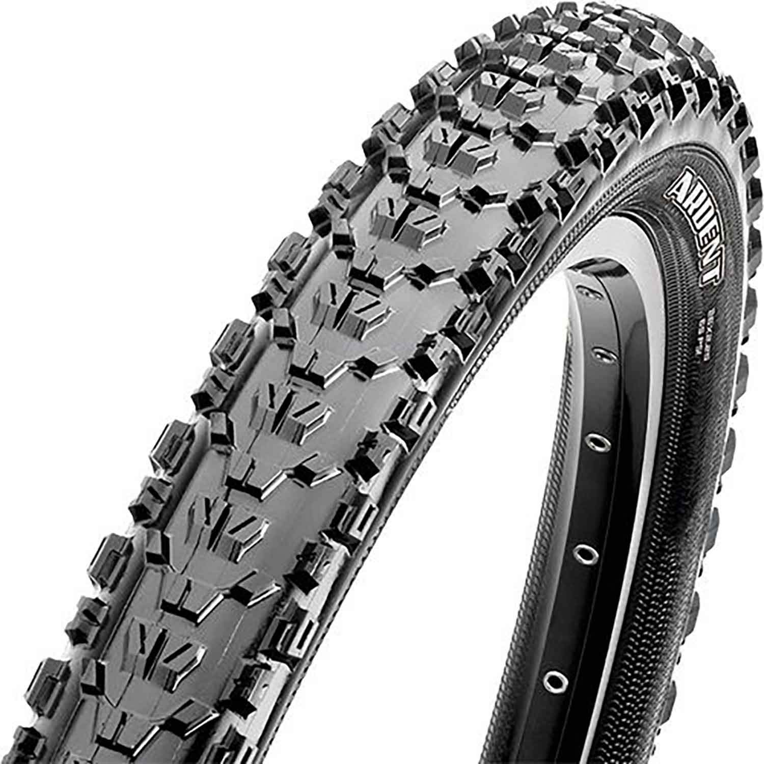 Maxxis Ardent Dual Compound EXO Tubeless Ready Folding Bead 60 TPI Mountain Bicycle Tire (Black - 26 x 2.40)