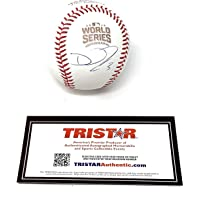 $109 » David Ross Chicago Cubs Signed Autograph Official World Series MLB Baseball Tristar Authentic Certified
