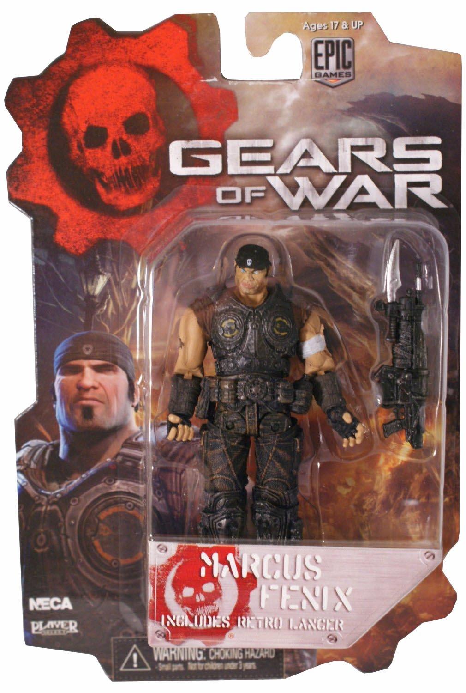 Gears Of War 3 Series 2 Action Figure 3.75 Marcus Fenix NECA 52233