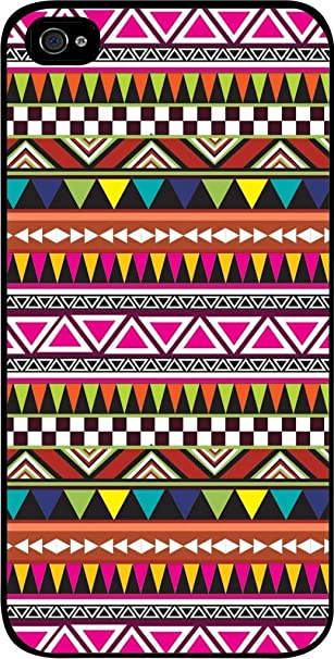 Sfondo Colorato Motivo Tribale Vector Iphone 5 Plastic Black