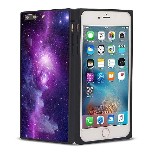 amazon com yokirin square phone case cover for iphone 7 plus iphone