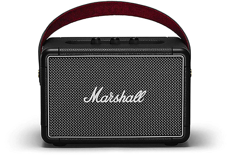 Marshall Kilburn II Portable Bluetooth Speaker, Black (Renewed)