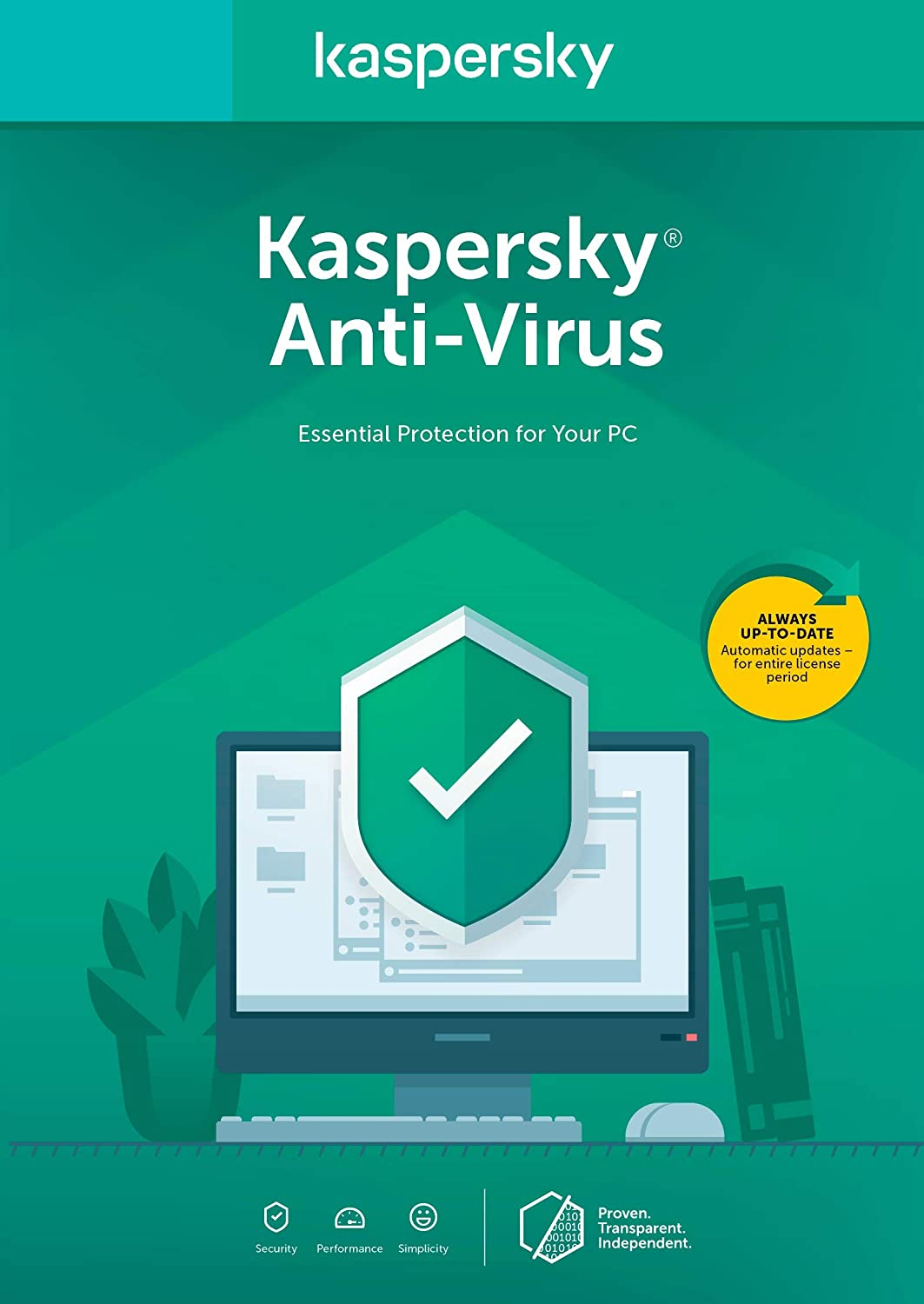 Kaspersky Anti-Virus 2018 | 3 Device | 1 Year [PC Key Code] 712BDY4I8ujL