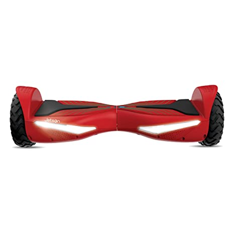 Jetson V12 Electra-Light Hoverboard Self-Balancing Electric Scooter with Powerful 500W Motor, LED Lights and UL Certified Safe Battery