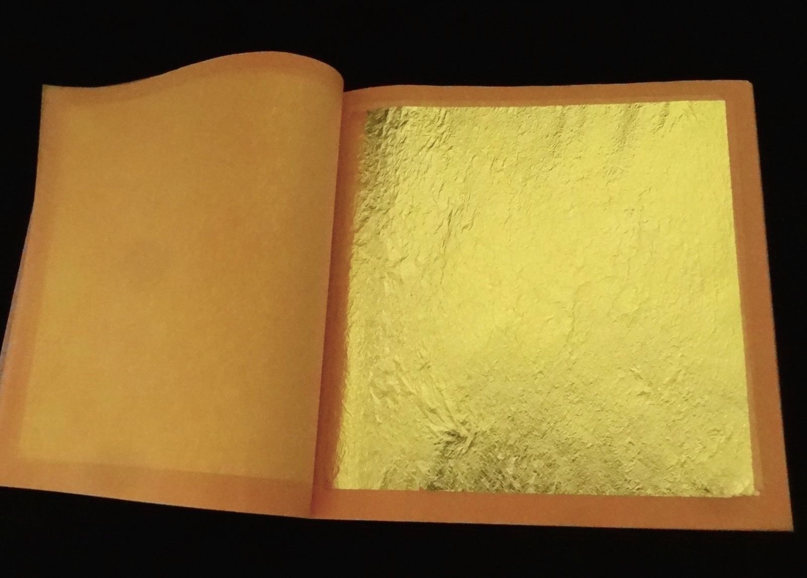 Genuine Gold Leaves (Loose) (23k, 20 booklets (500 sheets))