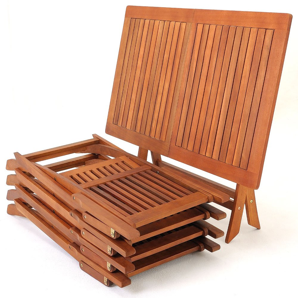 wooden garden furniture set table chairs set tropical acacia wood fsc dining furniture amazoncouk garden u0026 outdoors