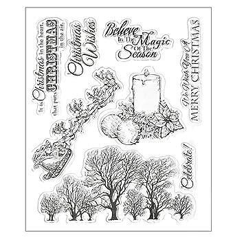 DIPOLA DIY Plantilla para Troqueles de Corte de de Letra Inglesa de Papel Decorativas y Butterfly