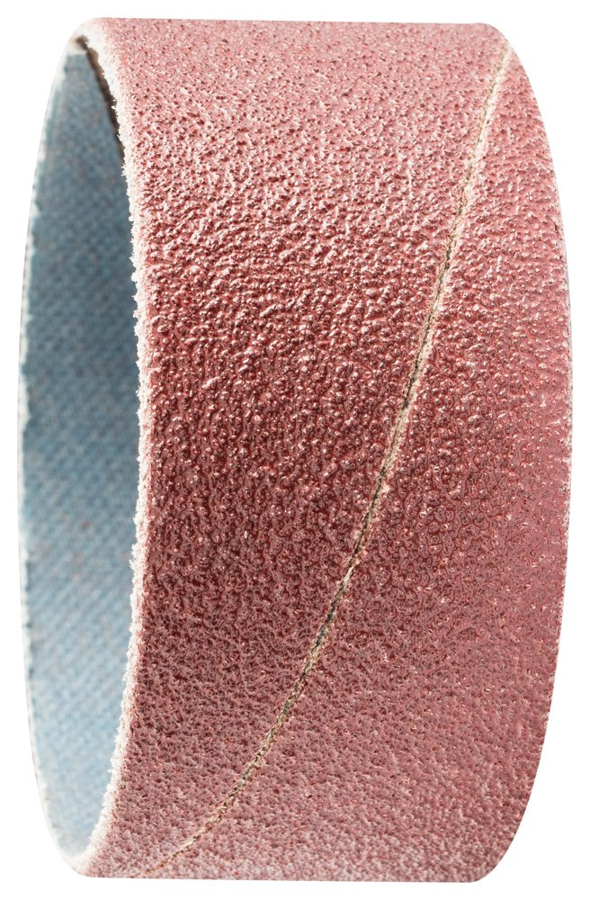 PFERD 41251 Cylindrical Type Abrasive Spiral Band, Aluminum Oxide A, 2'' Diameter x 1'' Length, 80 Grit (Pack of 100)